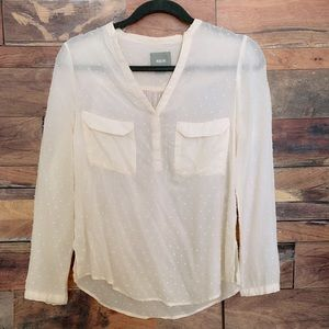 Mauve by Anthropologie Blouse Size 2